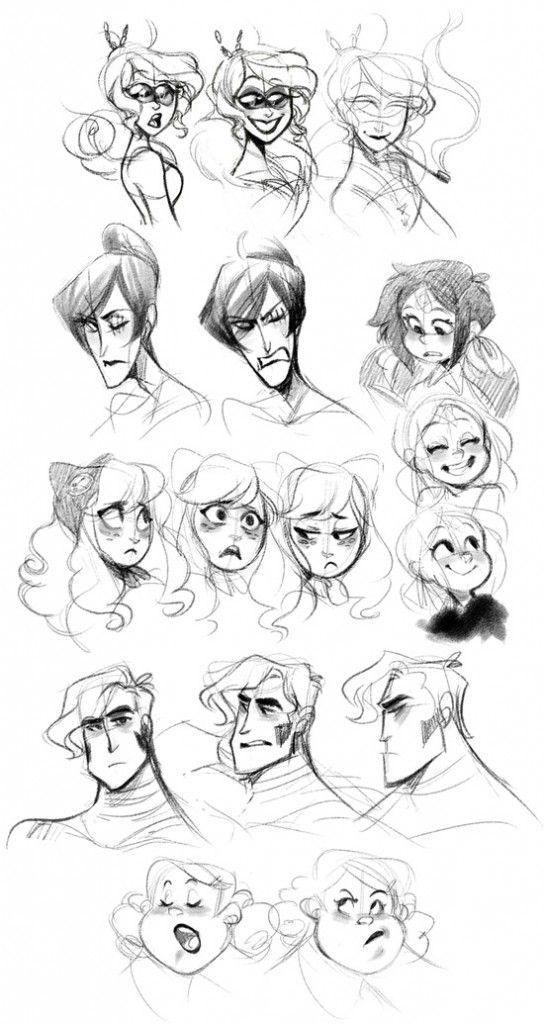IdeaFixa » Uma bibilioteca de referências para desenho de personagem