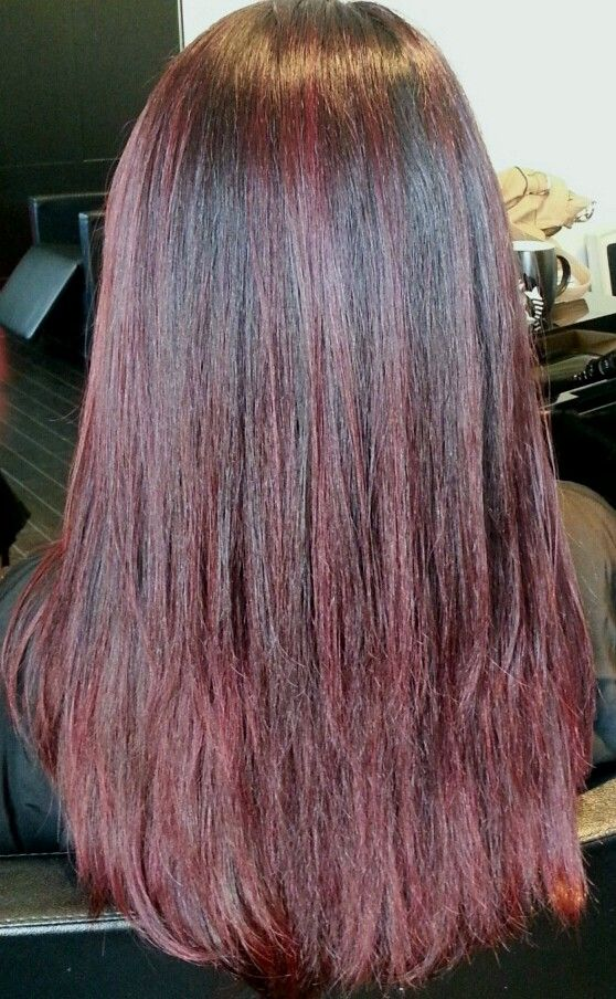 The 25 best asian hair red highlights ideas on pinterest asian red highlights red hair asian hair color by judy kasai at rossano ferretti hairspa pmusecretfo Gallery
