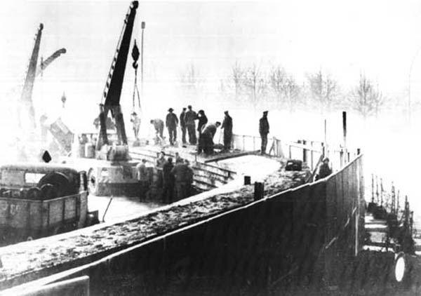 Mur de Berlin-construction