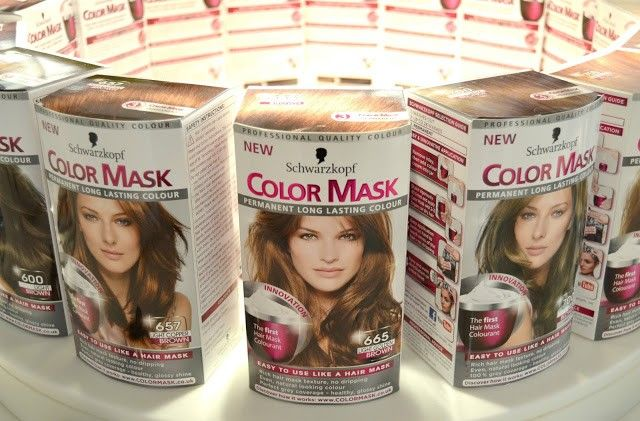 Schwarzkopf Color Mask Hair Dye Reviews - Schwarzkopf Hair Dyes