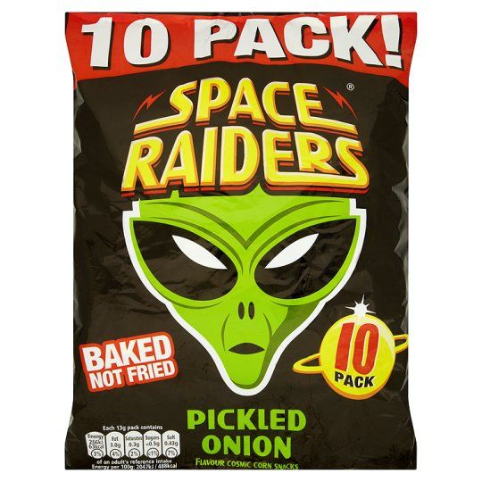 Space Raiders Pickled Onion 10X13g