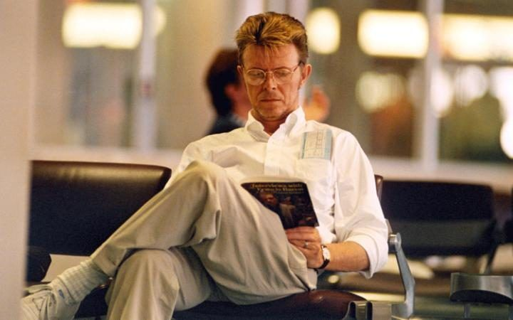 David Bowie was a reader! He even issued a list of his 100 favorite books.