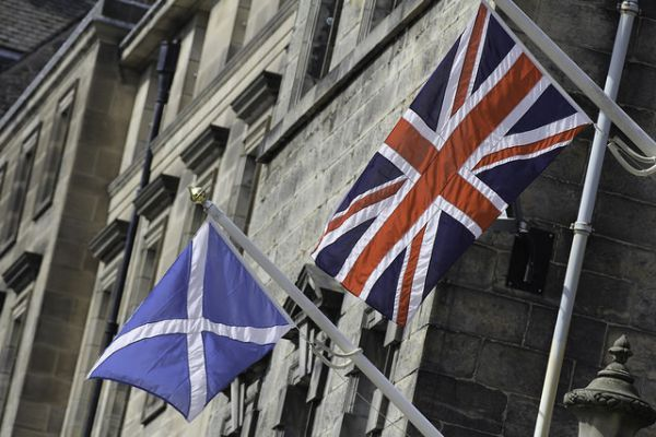The Union Jack Without Scotland