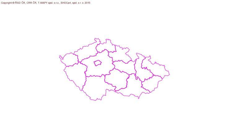 CRR - Mapový server