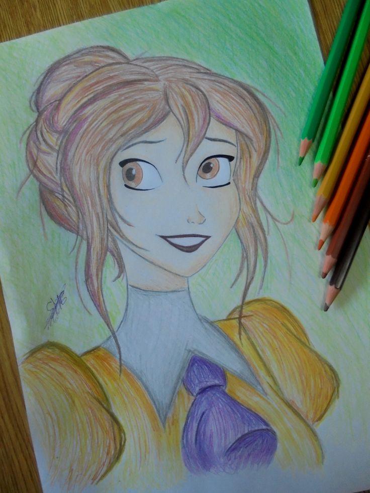 Dibujo lápiz. Jane Porter Disney