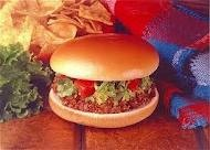 Taco Bell's Bell Beefer....closest thing they had to a burger.