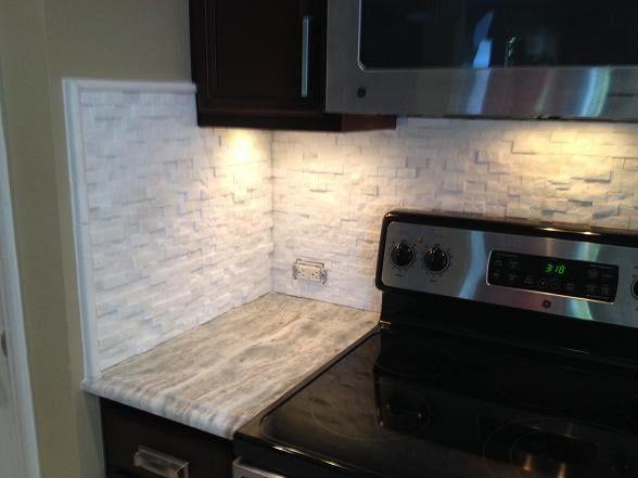 Image Result For Split Face Mosaic Tile Kitchen Backsplash Mosaic Tile Backsplash Kitchen Tile Backsplash Backsplash
