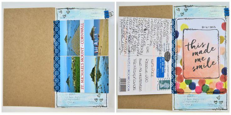TN Penpal Journal PROCESS #1 ~ Postcard from Demi https://youtu.be/nab5AH4X9sM