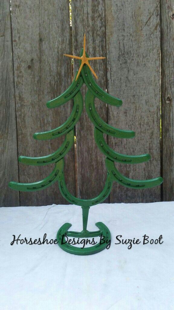 Horseshoe Christmas Tree https://www.facebook.com/horseshoedesignssb/
