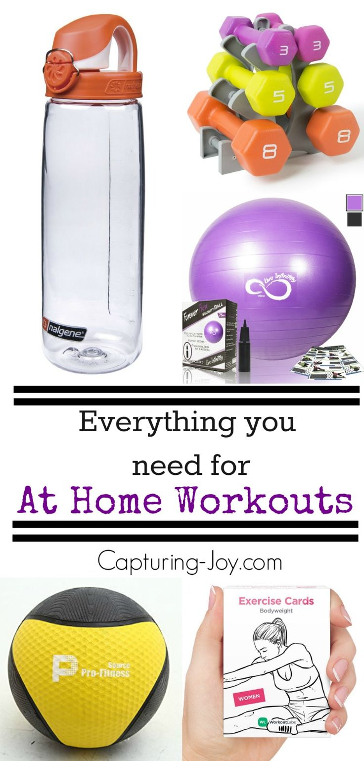 Getting fit in 2016? Check out this list of everything you need for successful at home workouts on Capturing-Joy.com!