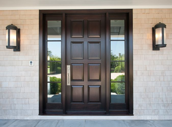 Elegant Custom Front Entry Door