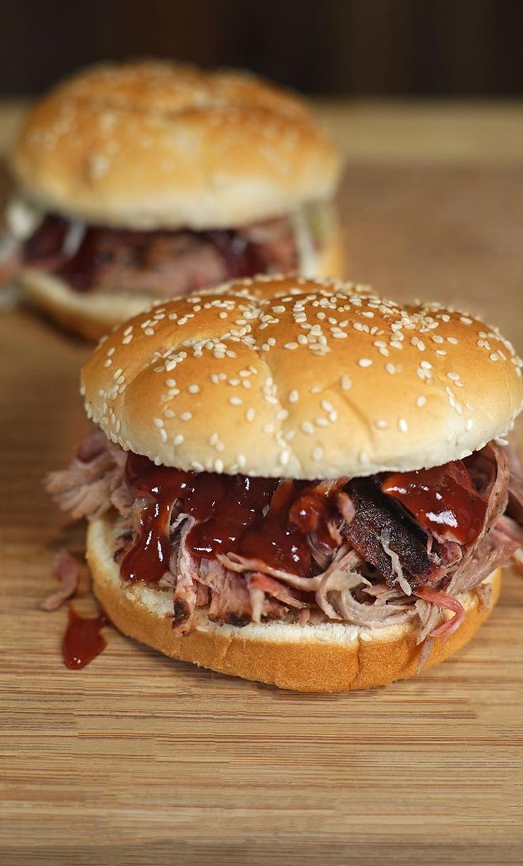 #BBQ #Pulled #Pork | It is time to harness your inner Pit Master and with this recipe for BBQ Pulled Pork, you can do just that. The recipe is beyond simple. With the SmokePro DLX Pellet Grill  you can work on more important things, like enjoying time with family and friends, while the pellet grill does the work. With the added flavor of our Competition Blend BBQ Pellets you will hit a foodie home run. | #CampChef #PelletGrill