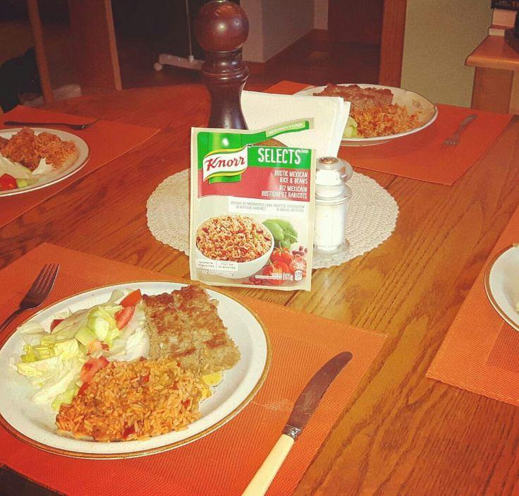 Yummy side dish! No artificial flavors  #RecessVoxBox @KnorrCanada
