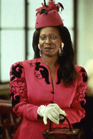 Oda Mae Brown (Whoopi Goldberg, Ghost)