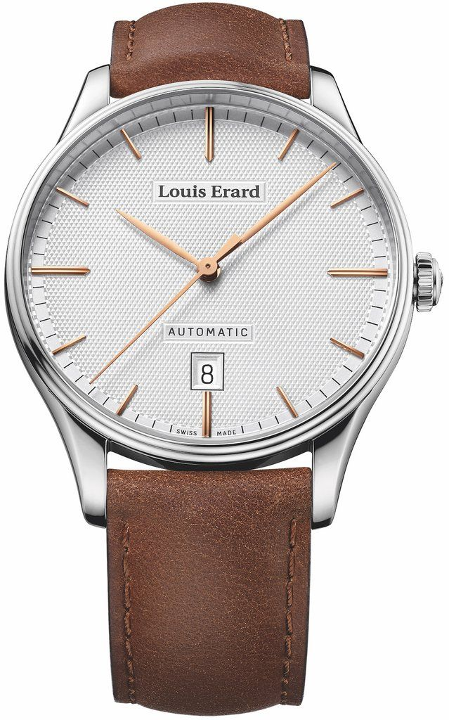 @louiserard Watch Heritage Classic Date #add-content #bezel-fixed #bracelet-strap-leather #brand-louis-erard #case-material-steel #case-width-40mm #date-yes #delivery-timescale-1-2-weeks #dial-colour-white #gender-mens #luxury #movement-automatic #new-product-yes #official-stockist-for-louis-erard-watches #packaging-louis-erard-watch-packaging #style-dress #subcat-heritage #supplier-model-no-69287aa31-bva01 #warranty-louis-erard-official-2-year-guarantee #water-resistant-50m