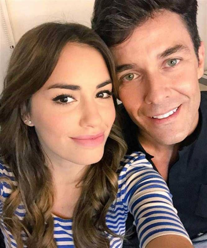 Lali con Mariano Martinez