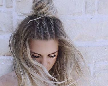 25 best ideas about peinados faciles y lindos on - Ideas para peinados faciles ...