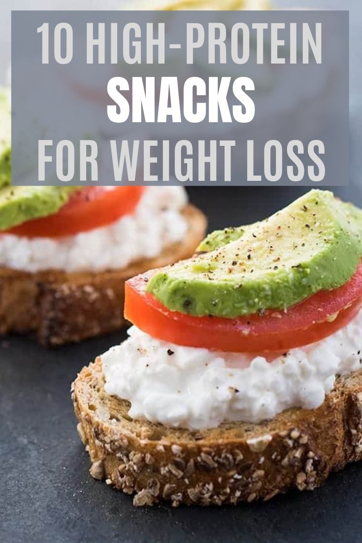 10 HIGH-PROTEIN SNACKS THAT WILL MAKE YOU LOSE WEIGHT