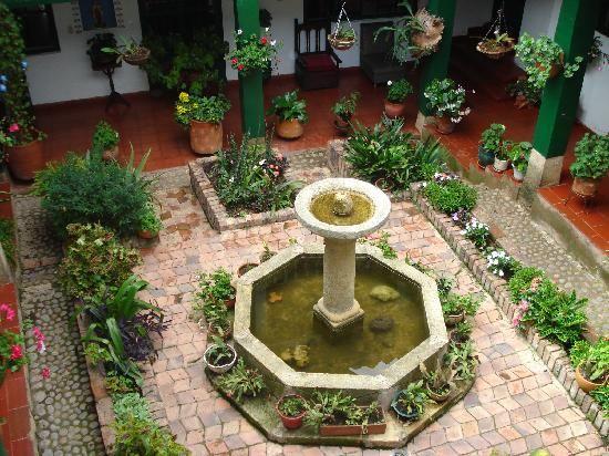 Villa de Leyva, Colombia: VISTA PATIO SUPERIOR