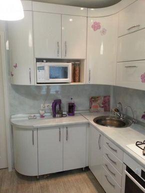 Дизайн маленькой кухни в хрущевке: фото интерьера
