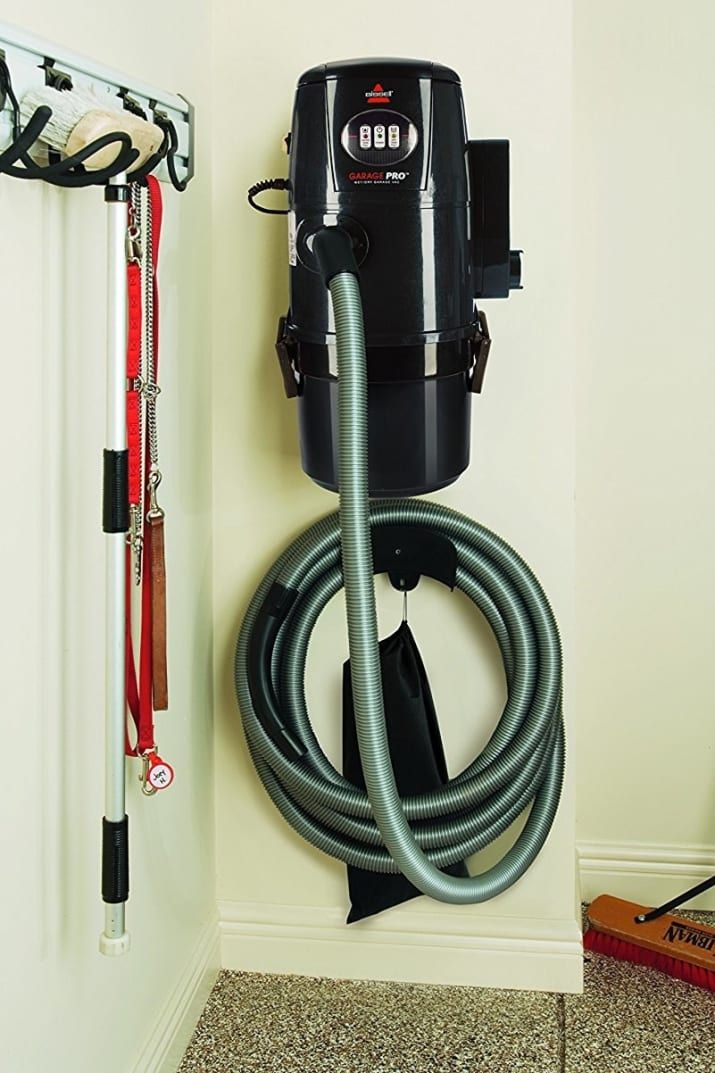 Invest In A Wall Mounted Shop Vac Shop Vac Clever Storage Garage Vacuums