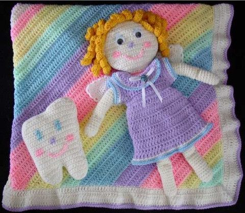 Maggie's Crochet · Tooth Fairy Set Crochet Pattern