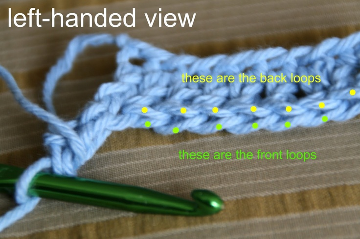 Knitting Instructions For Beginners Left Handed : Best images about crochet left handed patterns and