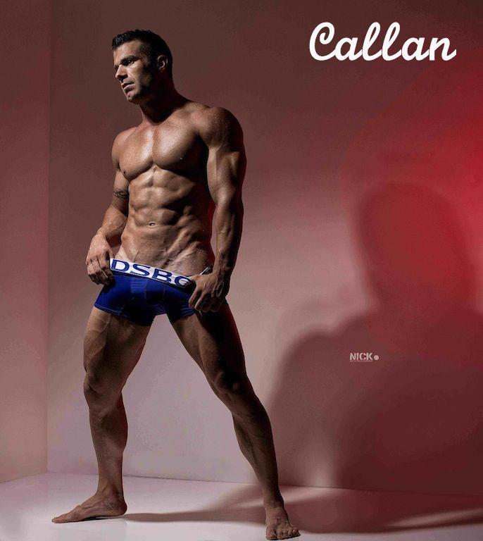 Callan, Topless Waiter, Hire a Hunk Brisbane.