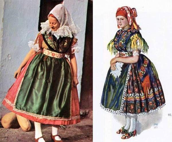 Rábaközi női viselet