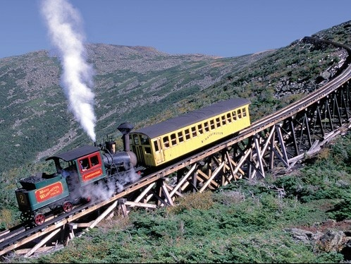 The Mount Washington Cog Railway- This was an amazing trip up AND down the mountain.