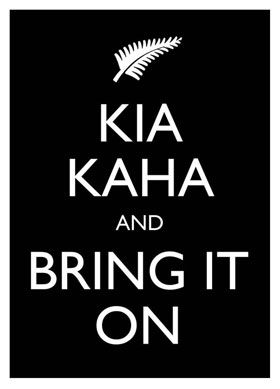 Kia Kaha.  Be Strong. Body Pump