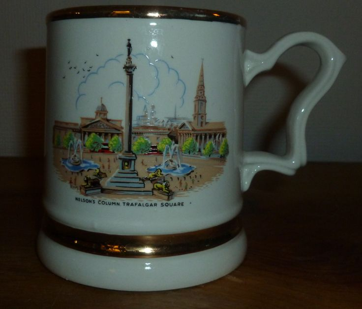 Nelson's Column Trafalgar Square Coffee Mug