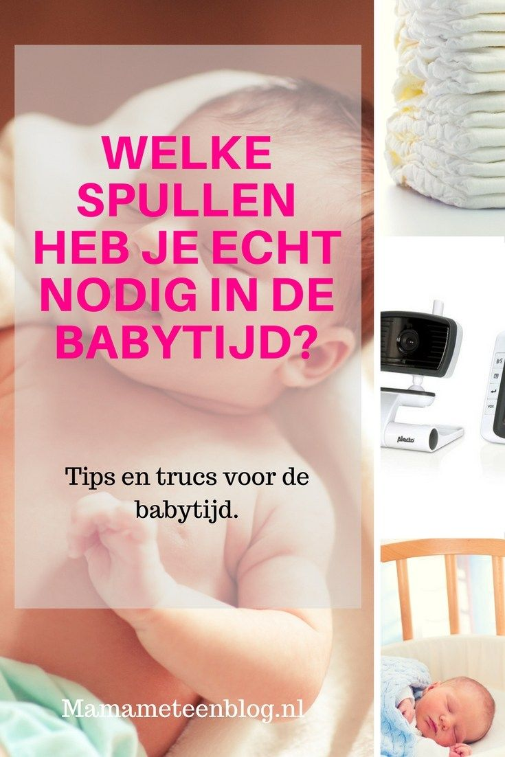 Welke spullen heb je echt nodig in de babytijd mamameteenblog.n