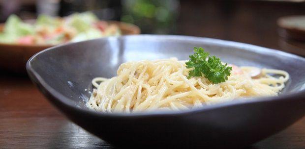Spagetti tökéletes sajtszósszal