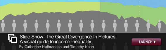 Slide Show: The Great Divergence In Pictures. Click image to launch.
