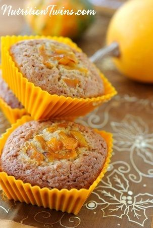 Skinny Pumpkin Muffins   Only 165 Guilt-free Calories   Made with @egglandsbest  .client   For MORE RECIPES, fitness & nutrition tips please SIGN UP for our FREE NEWSLETTER www.NutritionTwins.com