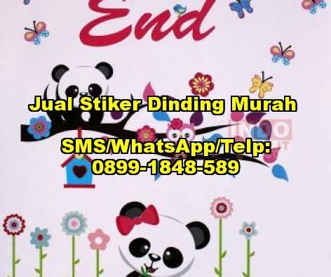 Jual Stiker Dinding Murah   SMS/WhatsApp/Telp: 0899-1848-589  http://indokomplit.com/stiker-dinding-wallpaper-sticker/