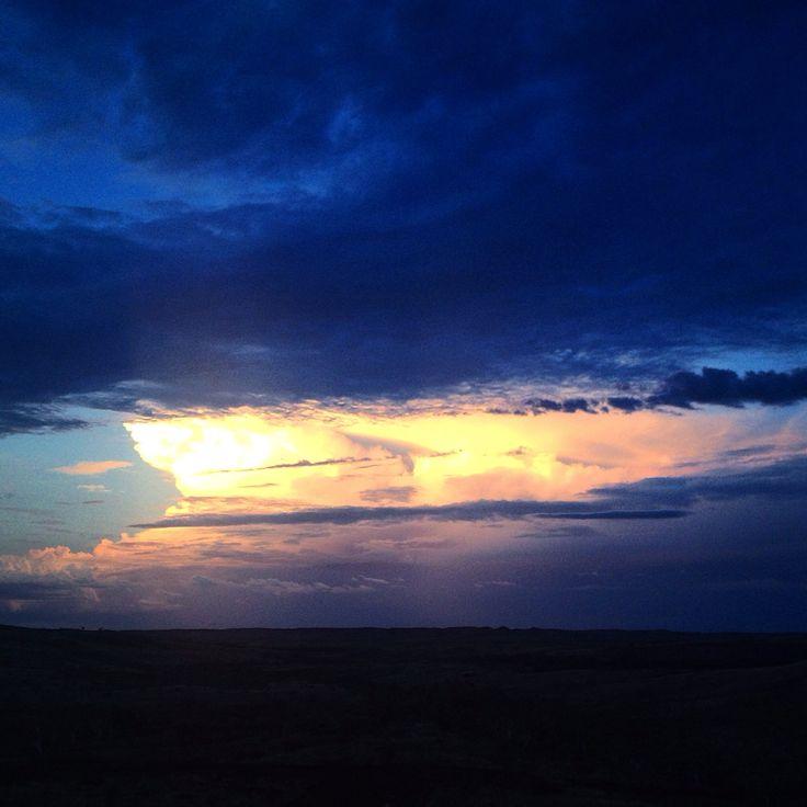 Afternoon storms Pilbara WA