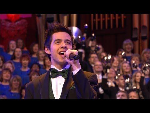 David Archuleta and the Mormon Tabernacle Choir - A Wondrous Christmas - YouTube