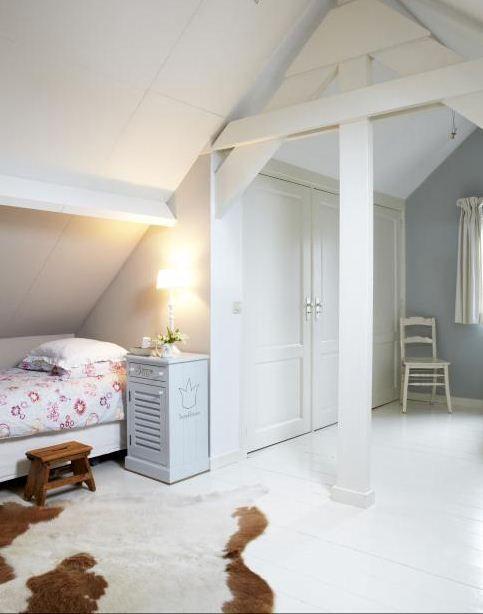 Attic | Bedroom | Child's Bedroom | White | Interiors | Zolder
