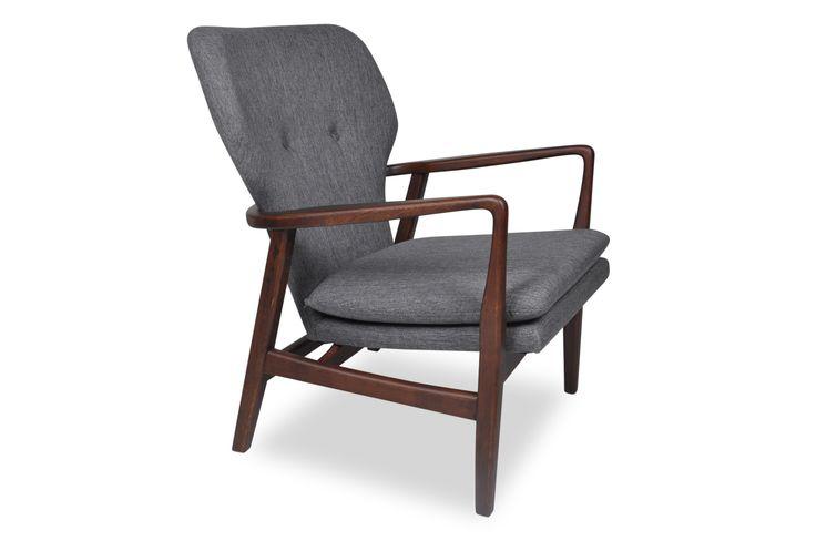 Aksel Lounge Chair (Bella Grey)