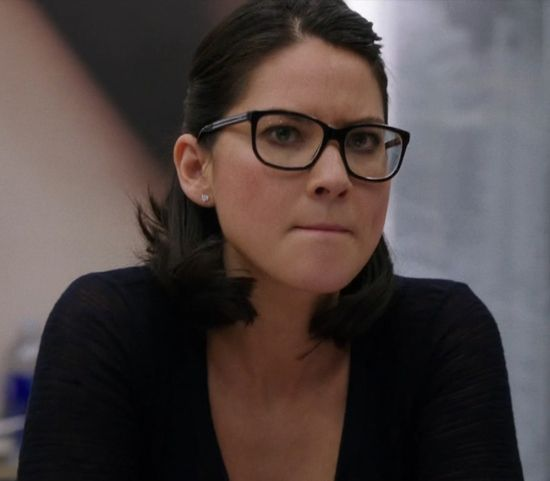 Olivia Munn as Sloan Sabbith. Apparently I have a thing for glasses.