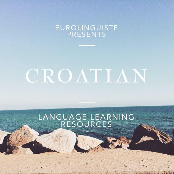 Croatian Language Learning Resources | Eurolinguiste