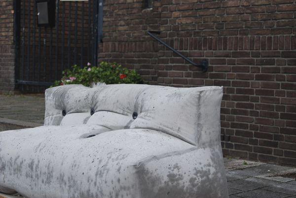 """Proyecto de mueble exterior """"softconcreteproject"""" del diseñador español Nacho Carbonell."""