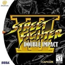 Complete Street Fighter III:Double Impact - Dreamcast Game