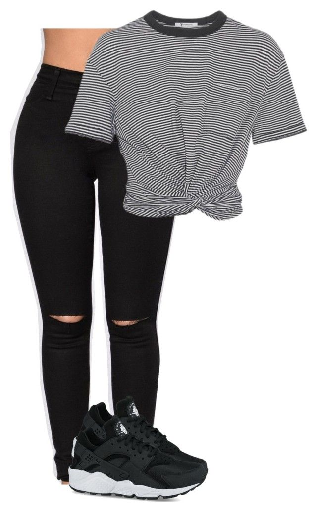 """""""Untitled #17"""" by jordyghicks on Polyvore featuring T By Alexander Wang and NIKE"""