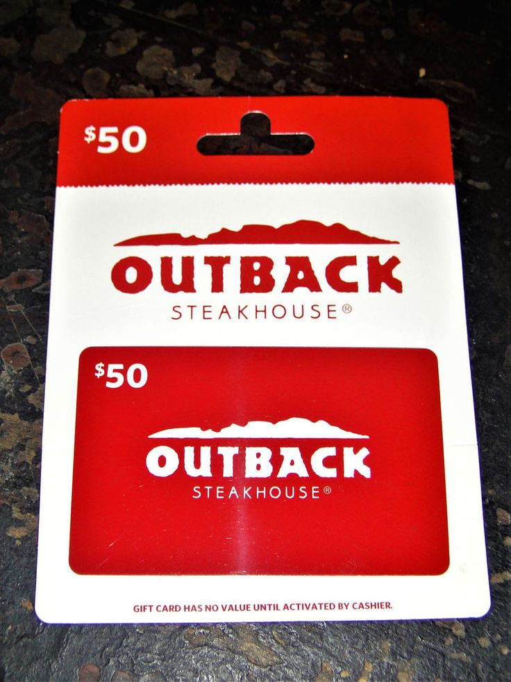 what is my outback gift card balance