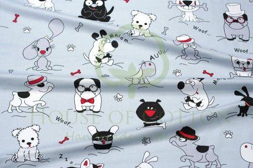 Bawełna wyluzowane psy