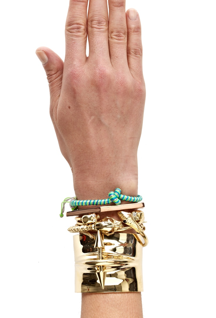 Arm Candy with sequence and jennifer fischer jewelry avaialble at edition01