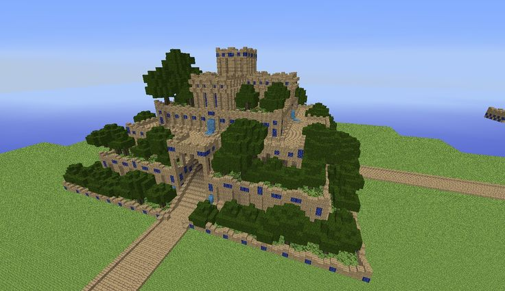 Hanging gardens of babylon minecraft project minecraft for Garden designs minecraft